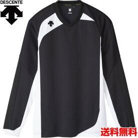 デサント(DESCENTE) 男女兼用 バレーボール用ウェア 長袖ゲームシャツ DSS-4710-BLK