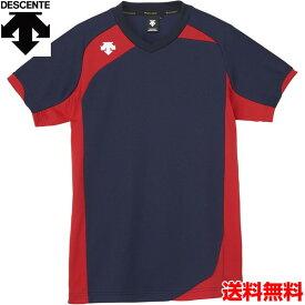 デサント(DESCENTE) 男女兼用 バレーボール用ウェア 半袖ゲームシャツ DSS-4720-NVY
