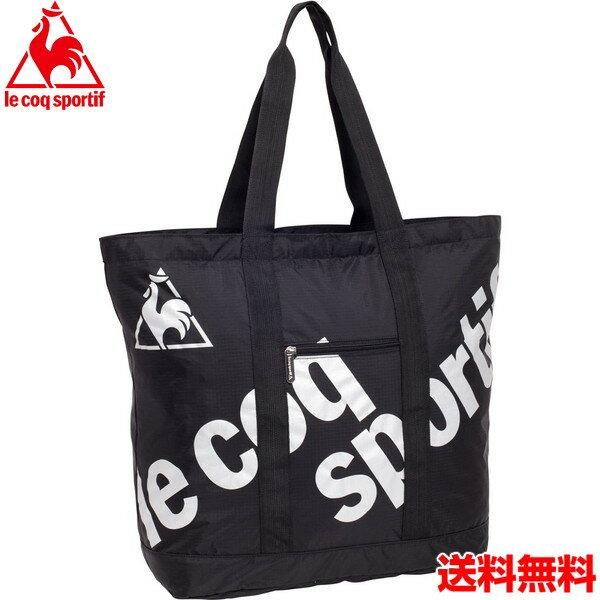 17SS ルコック(le coq sportif) コンパクトトートバッグ QA-671075 BLK 【RCP】 【送料無料】