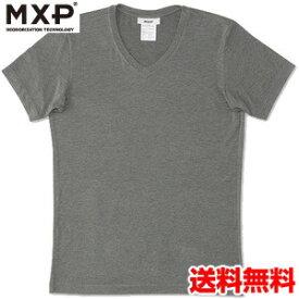 エムエックスピー(MXP) Vネック半袖シャツ(メンズ) MX15341-CH