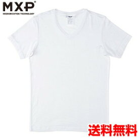 エムエックスピー(MXP) Vネック半袖シャツ(メンズ) MX15341-W2