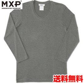 エムエックスピー(MXP) Vネック8分袖シャツ(メンズ) MX15342-CH