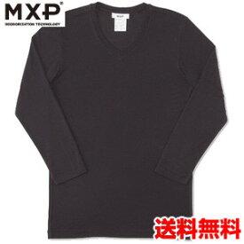 エムエックスピー(MXP) Vネック8分袖シャツ(メンズ) MX15342-K