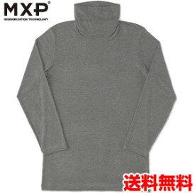 エムエックスピー(MXP) タートルネック8分袖シャツ(メンズ) MX15344-CH