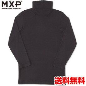 エムエックスピー(MXP) タートルネック8分袖シャツ(メンズ) MX15344-K