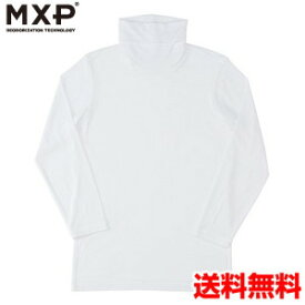 エムエックスピー(MXP) タートルネック8分袖シャツ(メンズ) MX15344-W2