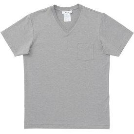 エムエックスピー(MXP) ファインドライ Vネックポケット付半袖シャツ(メンズ) MX16104-Z