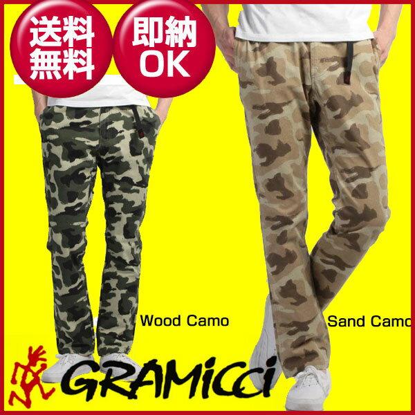 ◎□即納!グラミチ GRAMICCI CAMO NN-PANTS ナロー ロングパンツ GMP-17S004 メンズ