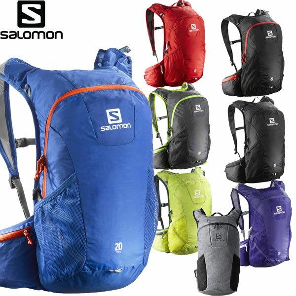 17SS SALOMON(サロモン) サロモン バッグ 登山 TRAIL 20 トレイル20 バックパック リュック 【RCP】 【送料無料】