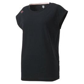 DESCENTE(デサント) ノースリーブシャツ DMWPJA59-BK レディース