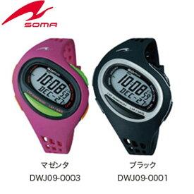 SOMA(ソーマ) ランニングウォッチ RunONE 100SL 【DWJ09】 ミディアムサイズ スポーツ時計 腕時計