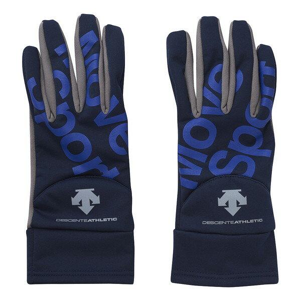 デサント(DESCENTE) 防風3Dグローブ 手袋 アクセサリー DAC-8793-NVY