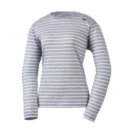 MILLET(ミレー) 【レディース】ウールボーダー Tシャツ ロングスリーブ MIV01779-3684