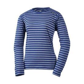 MILLET(ミレー) 【レディース】ウールボーダー Tシャツ ロングスリーブ MIV01779-8731