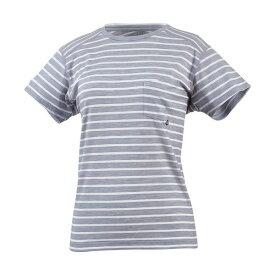 MILLET(ミレー) 【レディース】ウールボーダー Tシャツ ショートスリーブ MIV01780-3684
