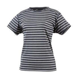 MILLET(ミレー) 【レディース】ウールボーダー Tシャツ ショートスリーブ MIV01780-4003