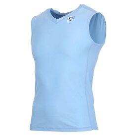 【※返品交換不可】訳あり大特価!カッパ(Kappa) ノースリーブコンプレッションシャツ KF412UT30-NAB(2008)