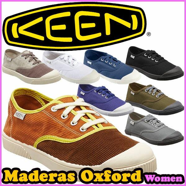 KEEN(キーン) マデラス オックスフォード MADERAS-OXFORD 【レディース】 アウトドア/スニーカー/キャンバス/ウォーター (正規品)