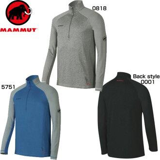 MAMMUT(mamuto)服装Trovat Pro Half Zip Longsleeve AF Men MA-1041-07340(Asian Fit)
