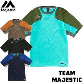 マジェスティック(Majestic)オーセンティック テックフリース SSクルーネック 半袖 XM01MAJ022