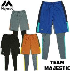 マジェスティック(Majestic)オーセンティック メンズ レギンス&ショーツ セット XM12MAJ005