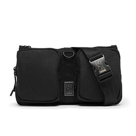 クローム(CHROME) ボディバッグ MXD NOTCH iPad mini スリングバッグ ウエストバッグ 2WAY 防水 撥水 BG239ALLB ALL BLACK