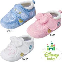 Disney(ディズニー)DS0197ミッキーマウスファーストシューズベビーキッズシューズ(子供靴男の子女の子)ダイマツ