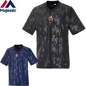 マジェスティック(Majestic)ウェア Tシャツ Piste CAMO SS Tee 半袖 XM23MJ9S03 TEAM MAJESTIC 野球