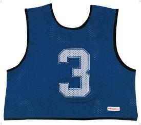 ミカサ(MIKASA) ゲームジャケット ハーフタイプ10枚セット ネイビーブルー GJH10NB