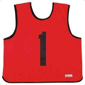 ミカサ(MIKASA) ゲームジャケット レギュラーサイズ レッド GJR2R
