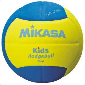 ミカサ(MIKASA) キッズドッジボール二号 YP ハントドッチ ボール SD20YBL ジュニア ボーイズ