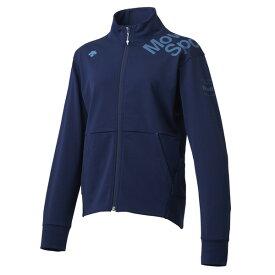 大特価30%OFF!デサント(DESCENTE)サンスクリーン トレーニングジャケット レディース DMWMJF11-NV