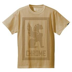 クローム(CHROME) BIG LOCKUP TEE JP044BG Tシャツ ウェア