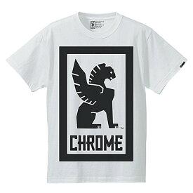クローム(CHROME) BIG LOCKUP TEE JP044WT Tシャツ ウェア