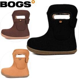 BOGS(ボグス) 防寒 防水ブーツ ベビー/キッズ SOLID (RO) (ベビーキッズ)(71392S)(ランキング2位)