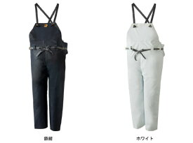 LOGOS ロゴス クレモナ水産 胸当付ズボン(ゴム式) ホワイト 特号 10061610
