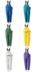 LOGOS ロゴス マリンエクセル 胸当付ズボン膝当て付(サスペンダー式) ホワイト 3L 12063610
