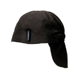 LOGOS ロゴス 冷え帽ブラック【熱中症対策/UV対策/帽子85100810】(85100810) (トレッキング)
