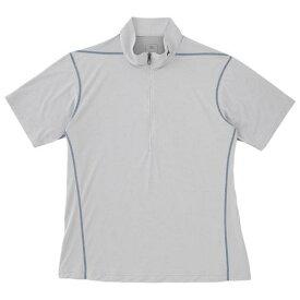 大特価!MIZUNO ミズノ ドライアクセル/ライトメッシュ半袖ジップネックシャツ A2JA605204