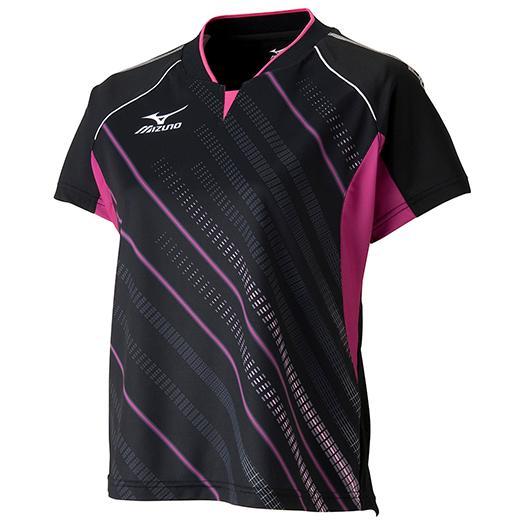 MIZUNO ミズノ ゲームシャツ(2015年日本代表モデル/卓球)(レディース) [ 82JA530197 ]【RCP】 【送料無料】