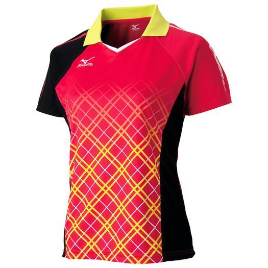 MIZUNO ミズノ ゲームシャツ(2016年日本代表モデル/卓球)(レディース) [ 82JA620265 ]【RCP】 【送料無料】