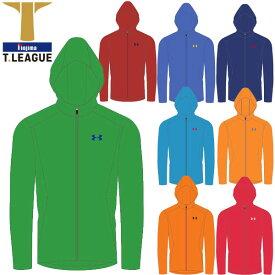 Tリーグ(T.LEAGUE) 卓球 012-310601 チームカラージップアップフーディ 長袖 パーカー