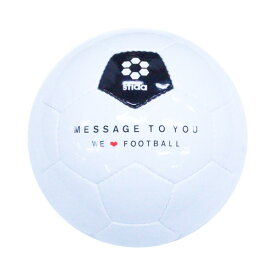 SFIDA(スフィーダ) Message To You 05 インテリア ボール メンズ・ユニセックス BSF-MTU05-WHITE