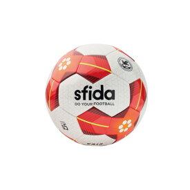 SFIDA(スフィーダ) VAIS サッカー ボール メンズ・ユニセックス BSF-VA02-WHITE-RED