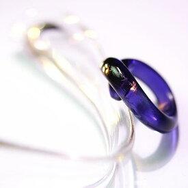 『Cross ring』 ガラスアクセサリー リング・指輪 デザインタイプ