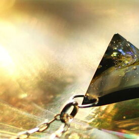『Nebula of Galaxy 〜 銀河の星雲 〜』 ガラスアクセサリー ネックレス・ペンダント 立体造形タイプ