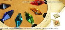 『StandardDreamblue/ターコイズブルー』ギフトやご結婚祝いにガラスアクセネックレス・ペンダント立体造形タイプ