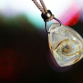 『時のMOVEMENT』 ガラスアクセサリー ネックレス・ペンダント 立体造形タイプ