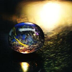 『銀河の珠玉』 ガラスアクセサリー オブジェ