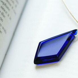 『ROYAL DIAMOND』 ガラスアクセサリー ネックレス・ペンダント 四角・多角・星タイプ